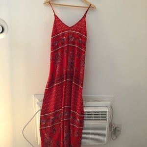 ☀️Dress Sale☀️ Orange Printed maxi dress